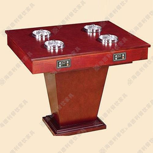 实木火锅桌图片 实木火锅桌尺寸 实木火锅桌定做