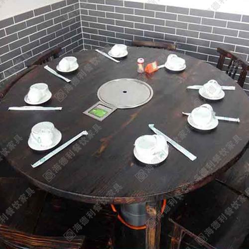 2015年最新款实木火锅桌 深圳哪里有最便宜实木火锅桌卖/供应呢?