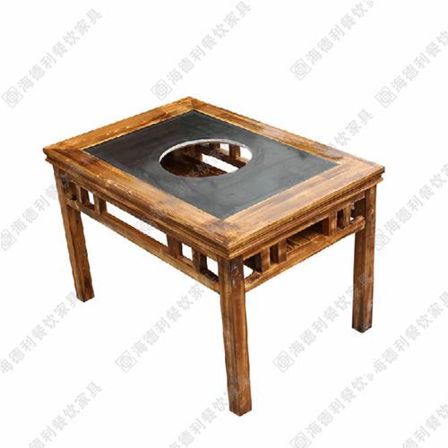 电磁炉火锅桌 燃气灶火锅桌 煤气灶火锅桌