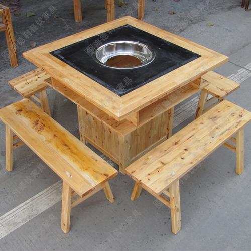 实木火锅桌椅 实木火锅桌椅批发 实木火