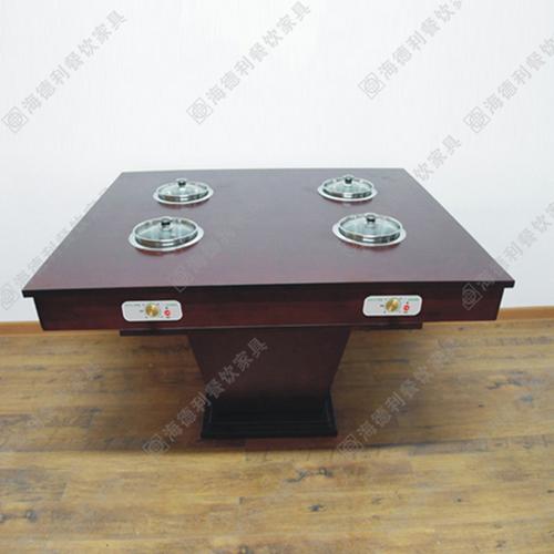 小电磁炉火锅桌 带电磁炉火锅桌 一人一