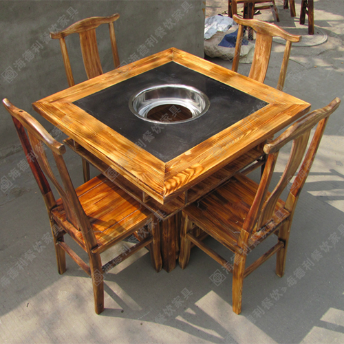 大理石火锅桌供应商价格 大理石火锅桌