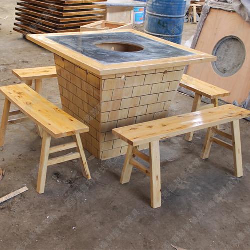 厂家供应 2015年新款上市火锅桌 电磁炉