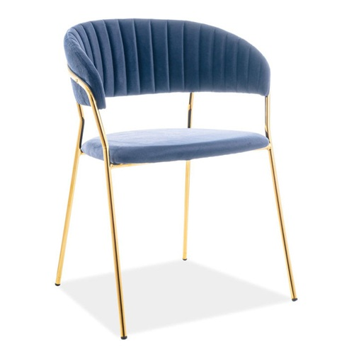 西餐厅不锈钢轻奢椅子家具