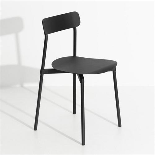 金属火锅椅图片 火锅店餐桌椅材质金属火锅椅子