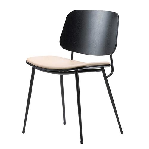 火锅店铁艺时尚靠背椅