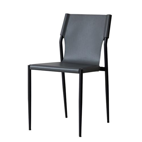 烤肉店创意极简金属椅