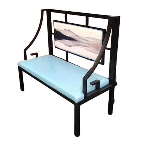 火锅店中式卡座沙发