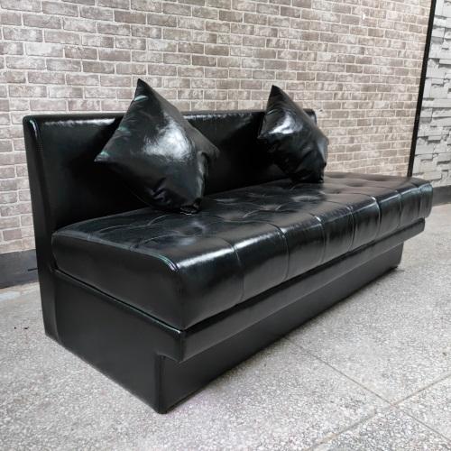 高档火锅店创意个性真皮沙发
