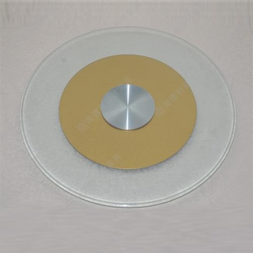 酒店钢化玻璃转盘 双层10mm厚火锅桌餐桌钢化玻璃转盘定做