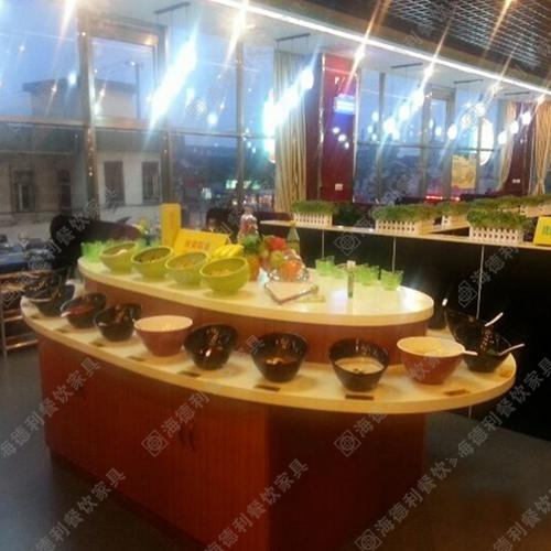 自助调料台酱料台 火锅餐厅料理店时尚双层酱料台