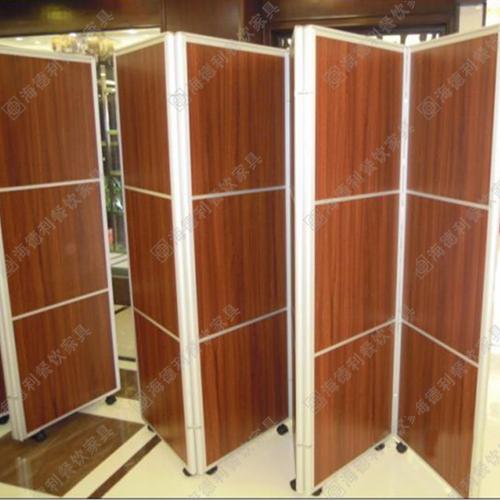 板式屏风隔断 现代简约型可移动立式屏风隔断