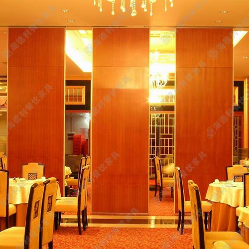 实木屏风隔断 现代客厅餐厅门式可滑动实木屏风隔断