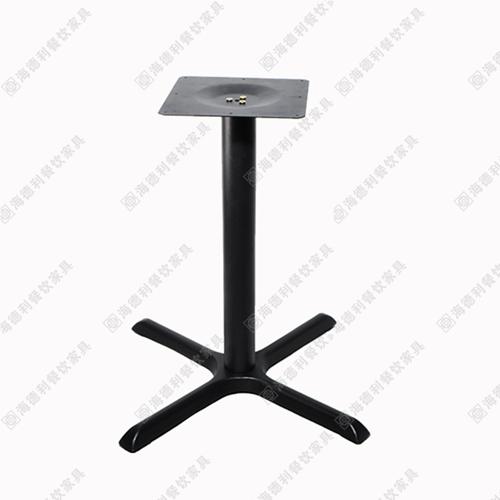 沉重铸铁火锅桌桌脚 餐台脚 桌子支架不锈钢餐桌脚 火锅桌铁桌架 桌子脚架
