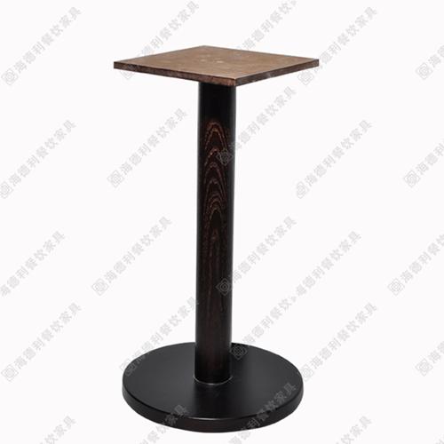 酒店餐桌实木桌脚 木质时尚餐桌架 火锅桌桌脚架