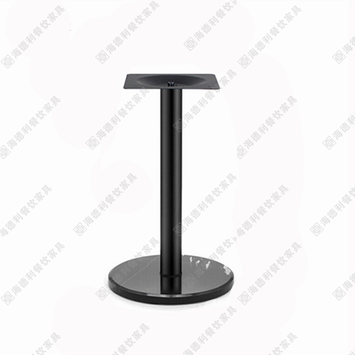 咖啡厅餐桌脚铸铁桌脚桌架铸铁台脚西餐厅桌台脚桌架