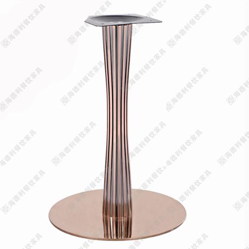 加大铸铁餐桌支架大理石桌腿桌架子餐桌铸铁底盘座咖啡桌桌脚