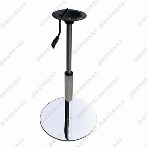 400mm不锈钢拉丝圆盘桌脚/腿 快餐厅桌子脚 橱柜支撑桌脚/腿